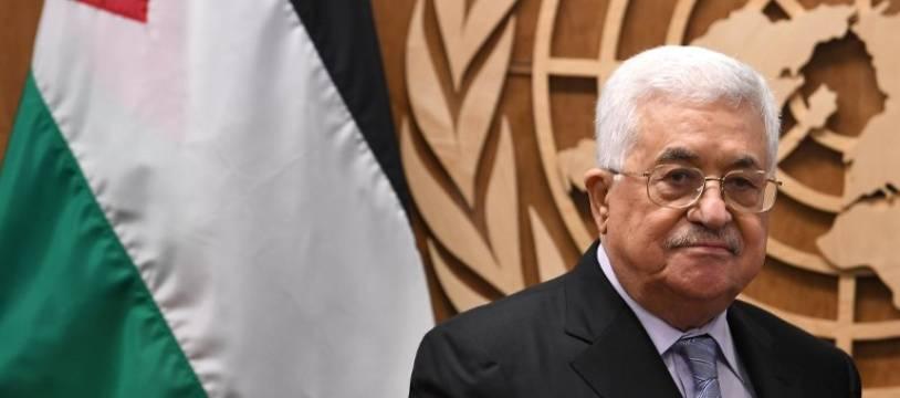 Mahmoud Abbas à New York, le 19 septembre 2017.