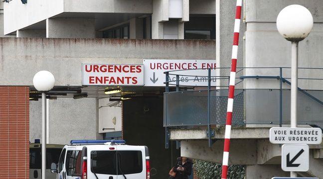 Entree des urgences pediatrique de l hopital Purpan. Toulouse, FRANCE-15/01/14 – FRED SCHEIBER