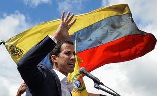 Juan Guaido, président par intérim autoproclamé du Venezuela.