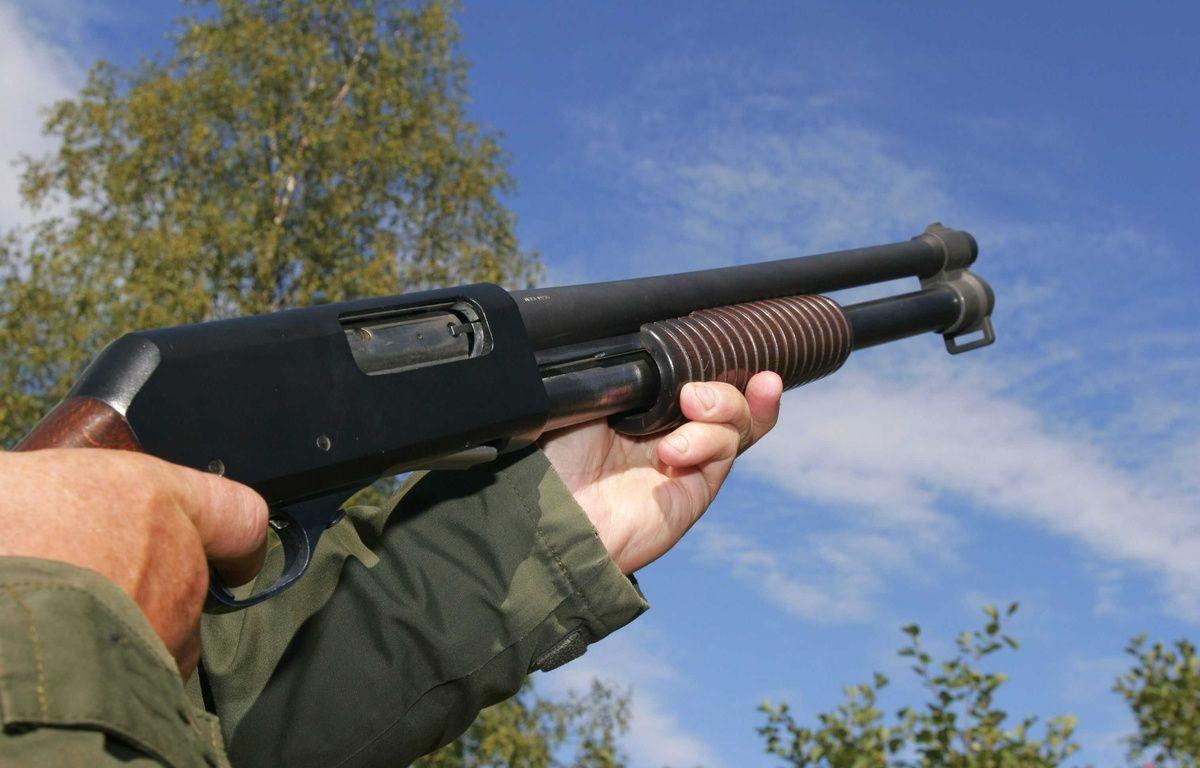 Illustration d'un fusil de chasse. – PEKKARINEN/LEHTIKUVA OY/SIPA