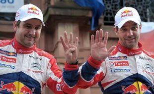 Le Français Sébastien Loeb est devenu champion du monde des rallyes pour la neuvième fois de sa carrière à l'issue du rallye de France, 11e des 13 manches du championnat WRC, qu'il a remporté dimanche à Haguenau (est).