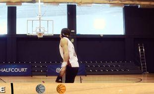 Capture d'écran de Gareth Bale en basketteur
