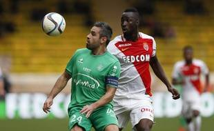 Loïc Perrin, ici lors d'un revers à Monaco en décembre, vise désormais clairement la troisième place en Ligue 1.