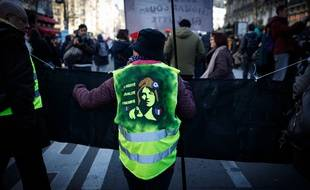 Gilets jaunes (illustration)