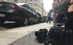 Sabrina fait la manche dans les rues de Nice depuis sept ans.