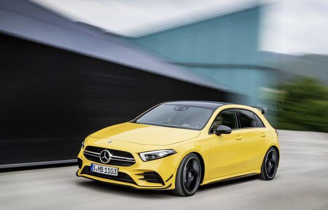 300 chevaux également pour la nouvelle Mercedes Classe A AMG.