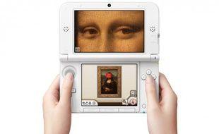 Le guide multimédia du Louvre, disponible sur la Nintendo 3DS.