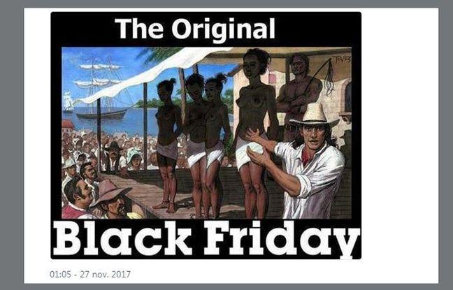 Ce mème reprend une intox sur le Black Friday.