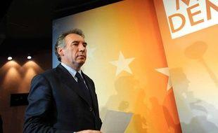 François Bayrou le 7 juin au siège du MoDem.