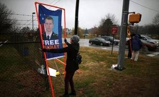 Le soldat Bradley Manning comparaissait mardi devant une cour martiale à Fort Meade pour une audience consacrée au régime carcéral sévère que le gouvernement américain lui avait imposé pour avoir livré des milliers de documents secrets à WikiLeaks.