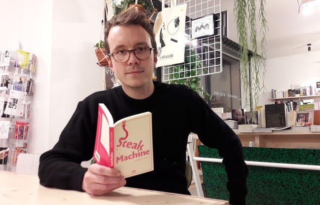Geoffrey Le Guilcher, journaliste, s'est infiltré 40 jours dans un abattoir industriel en Bretagne. Il relate cet expérience danss Steak Machine, livre paru ce jeudi 2 février 2016.