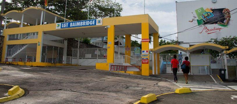 (Illustration) Le lycée Général et Technologique de Baimbridge, à Pointe-à-Pitre, en Guadeloupe.