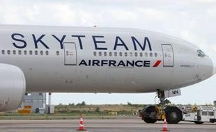 C'est un Boeing-777 comme celui-ci qui a dû faire demi-tour moins d'un quart d'heure après avoir décollé de Pékin.