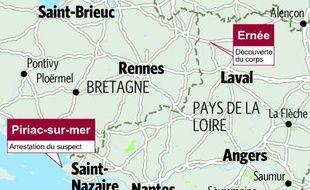 Le drame est survenu en Mayenne. Le principal suspect a été interpellé en Loire-Atlantique