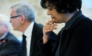 La ministre du Travail Myriam El Khomry, le 21 mars 2016 à Orléans