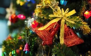 Illustration d'un arbre de Noël.