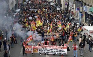 La manifestation du samedi 14 avril à Marseille.