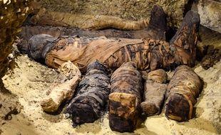 Plus de 40 nouvelles momies ont été découvertes à la nécropole de Tuna el-Gebel, dans la province de Minya, au sud de l'Égypte.