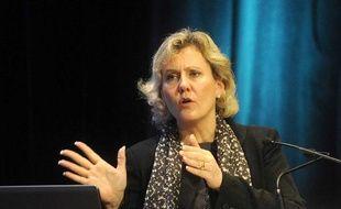 Nadine Morano, secrétaire d'Etat chargée de la Famille et de la Solidarité, le 8 février à Paris.