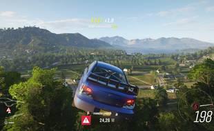 Un saut spectaculaire et complètement surréaliste.