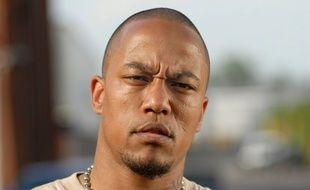 L'ex-rappeur allemand devenu djihadiste Denis Cuspert, en 2005 à Berlin.