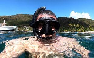 Brice Masi, biologiste de formation, est aussi plongeur et spéléologue.