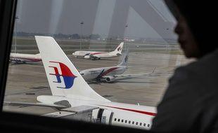 Un avion de la Malaysia Airlines à l'aéroport de Kuala Lumpur (illustration).