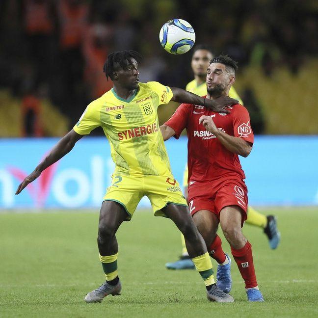 Kader Bamba face à Montpellier.