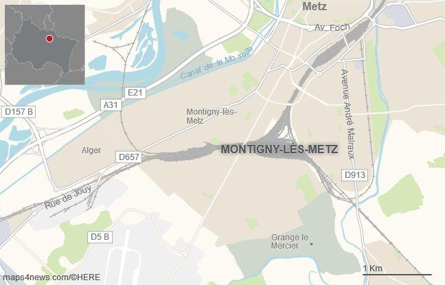 La commune de Montigny-lès-Metz, à côté de Metz.
