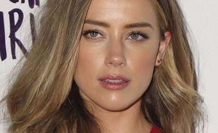 Amber Heard, à Los Angeles, le 12 avril 2016.