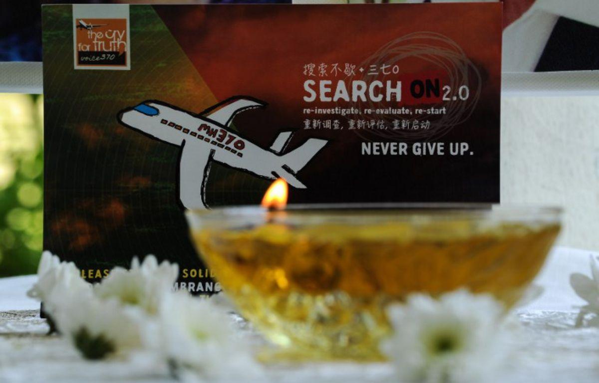Le vol MH370 de la Malaysia Airlines, disparu en mars 2014 avec 239 personnes à son bord – MOHD RASFAN / AFP