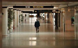L'aéroport de Kastrup, à Copenhague, le 28 avril 1998