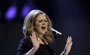 Adele, à la télévision anglaise, en septembre 2011.