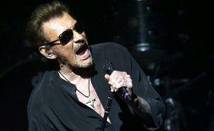 Johnny Hallyday en concert à Barcelone le 8 mars 2016
