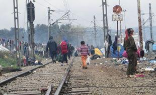 Les enfants réfugiés à Idomeni souffrent principalement de problèmes respiratoires et de troubles de l'intestin.