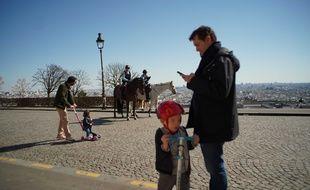 Il faut très beau sur Paris pendant le confinement.