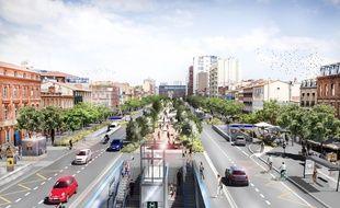 A Jean-Jaurès, on pourra accéder au métro par les Ramblas.
