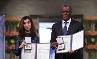 Nadia Murad et Denis Mukwege ont reçu le prix Nobel de la paix.
