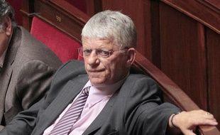Le député Maxime Gremetz à l'Assemblée nationale en mai 2010.