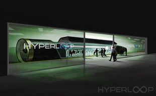 Hyperloop, le train du futur, pourrait mettre en circulation ses premiers modèles d'ici 5 ans, selon les chercheurs.
