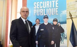 Bernard Cazeneuve mardi matin à l'Evêché, à Marseille.
