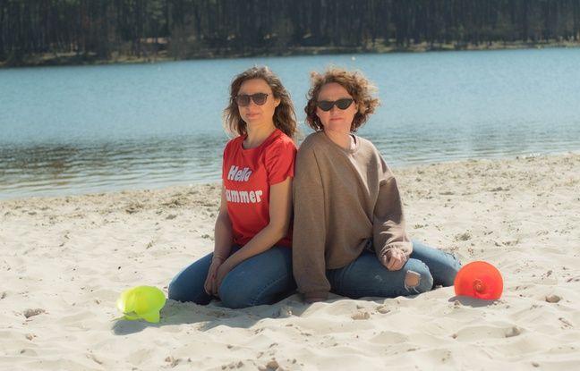 Lot-et-Garonne: Deux soeurs inventent un objet astucieux pour que le parasol ne s'envole pas sur la plage