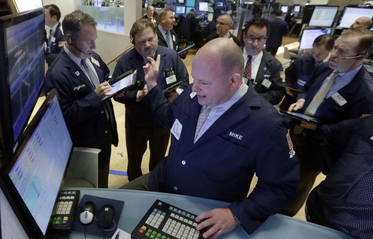 Illustration: des traders à Wall Street. – R.DREW/AP/SIPA