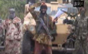 Le leader de Boko Haram dans une vidéo envoyée aux médias le 5 mai 2014.
