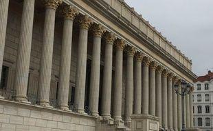 Photo d'illustration de la cour d'assises du Rhône, à Lyon.