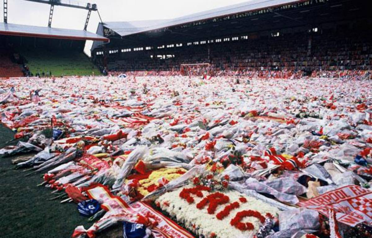 Hommage aux victimes de la catastrophe de Hillsborough, le 22 avril 1989 – CLERIOT -/SIPA