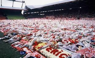 Hommage aux victimes de la catastrophe de Hillsborough, le 22 avril 1989