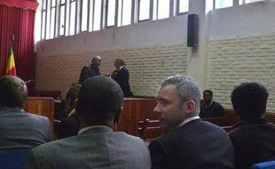 """Deux journalistes suédois reconnus coupables de """"soutien au terrorisme"""" et d'entrée illégale en Ethiopie ont été condamnés mardi à 11 ans de prison par un tribunal d'Addis Abeba."""