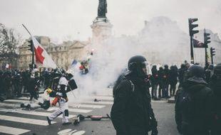 L'acte 12, à Paris, le 2 février 2019.