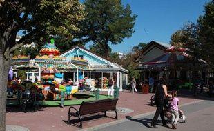 Le jardin d'acclimatation, en septembre 2010.
